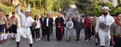 Visite du nonce apostolique à